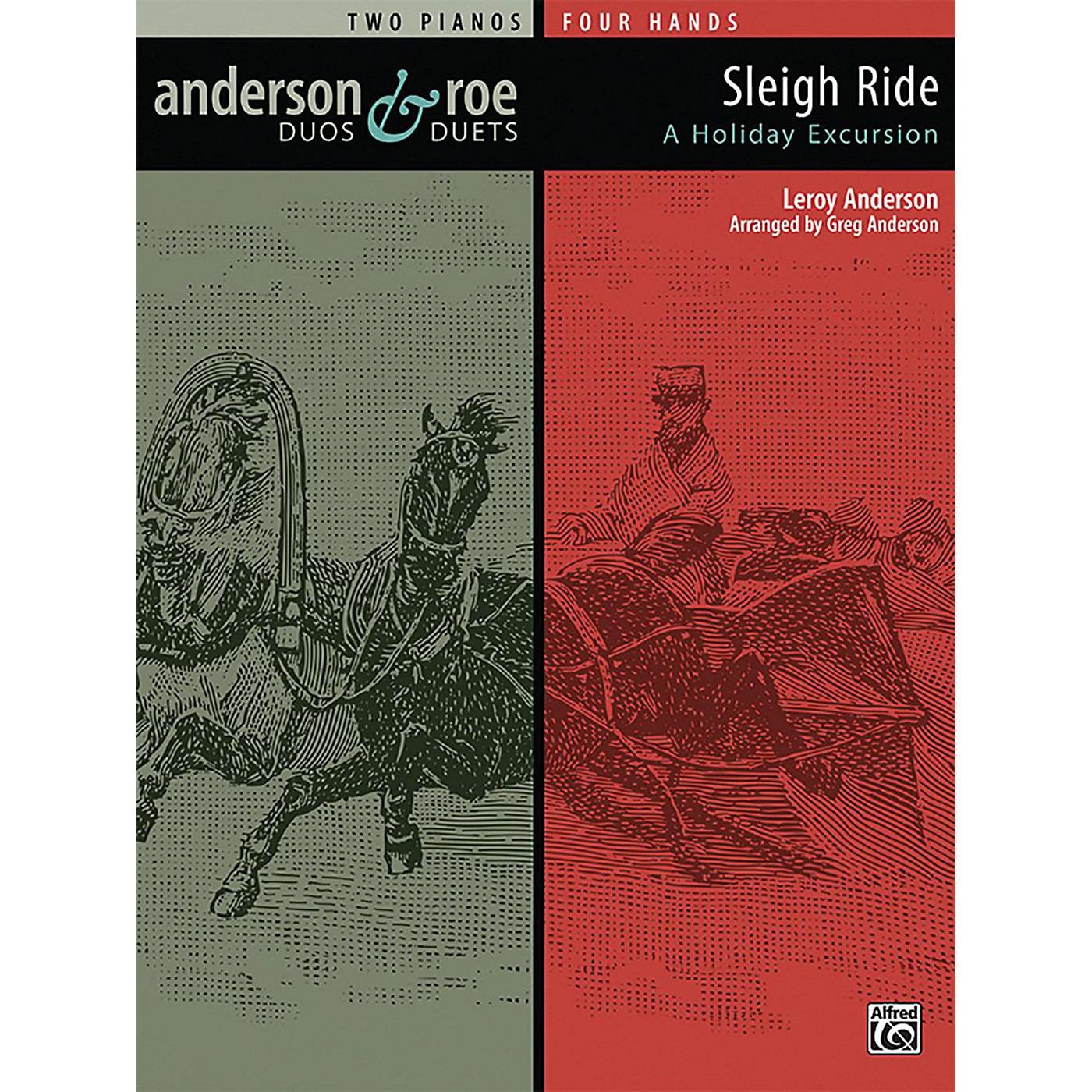 Alfred Anderson & Roe: Sleigh Ride Advanced Piano Duo thumbnail
