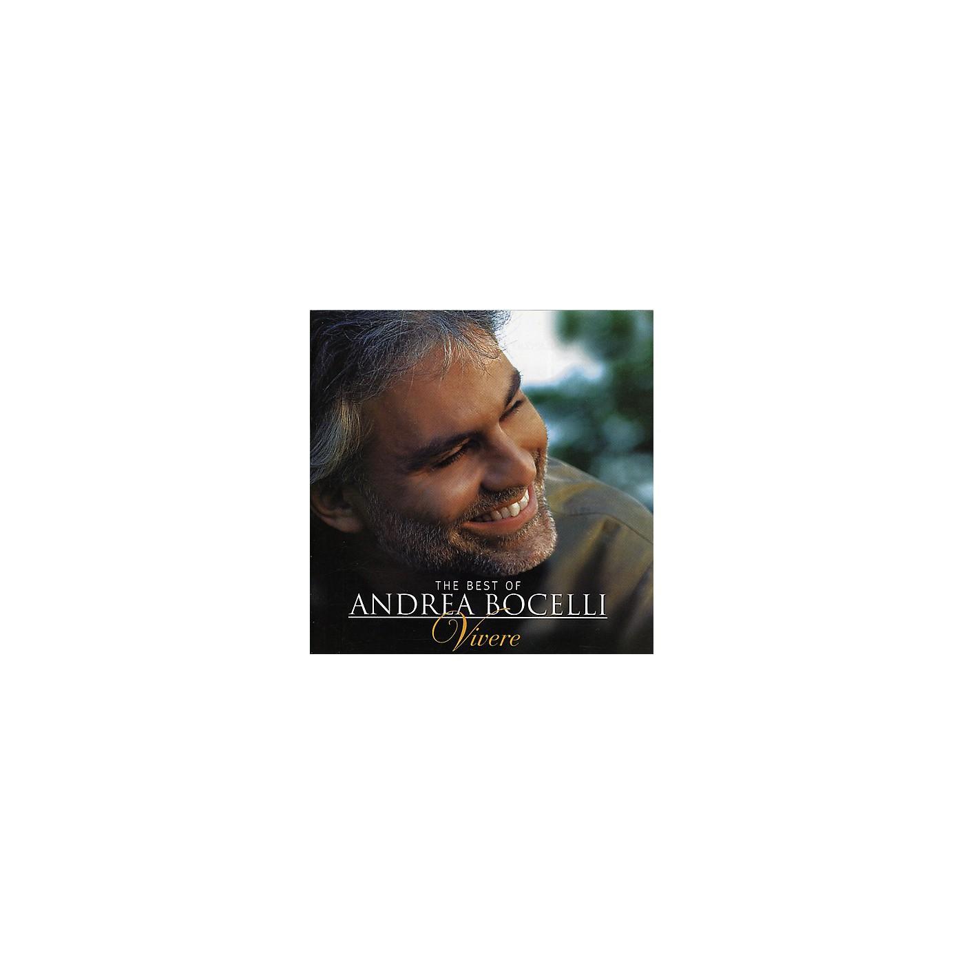 Alliance Andrea Bocelli - Best of Andrea Bocelli: Vivere (CD) thumbnail