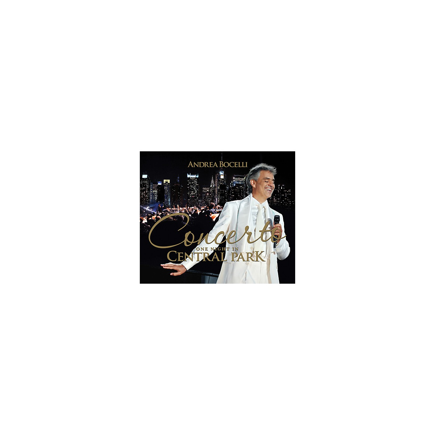 Alliance Andrea Bocelli - Concerto One Night in Central Park (CD) thumbnail