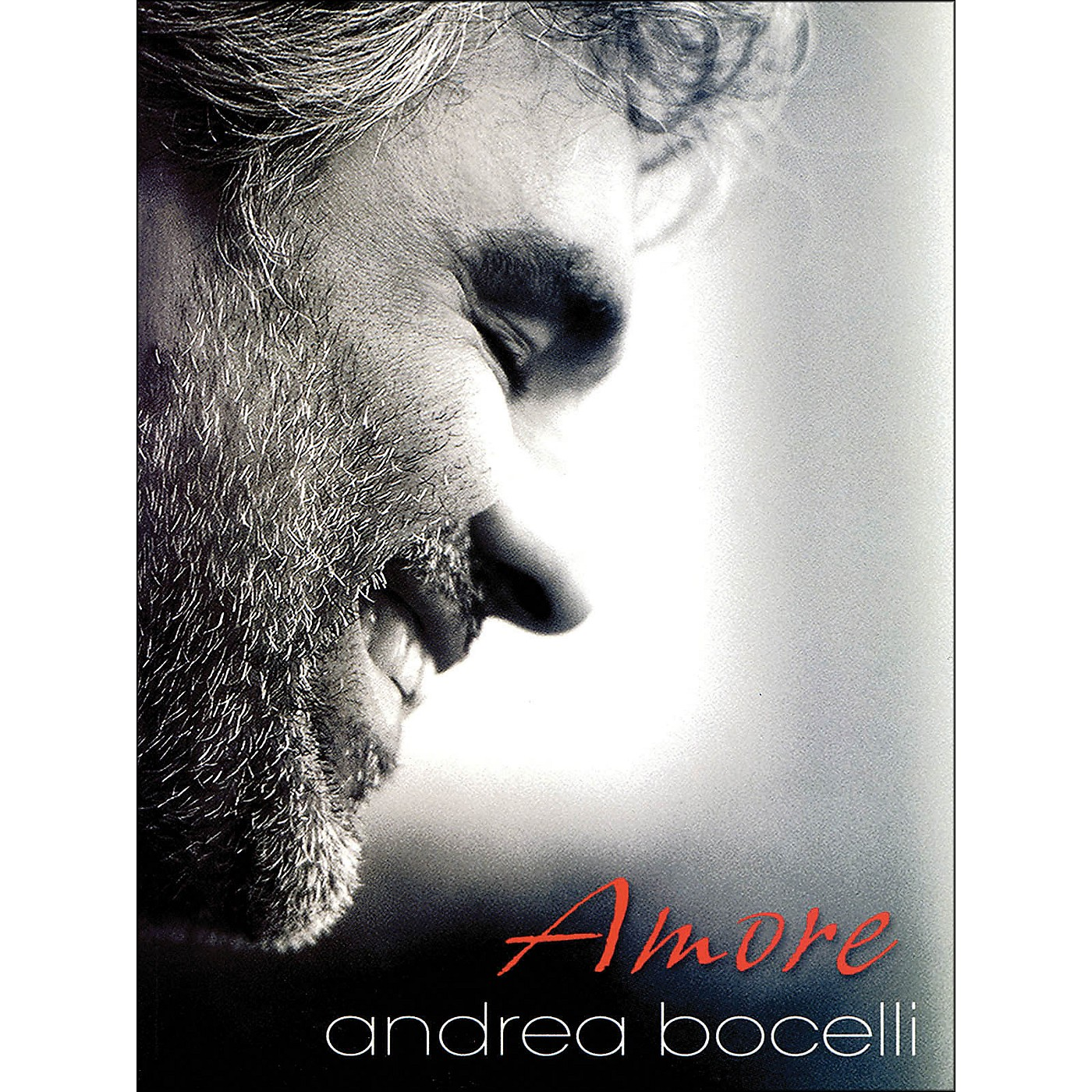 Hal Leonard Andrea Bocelli Amore arranged for piano, vocal, and guitar (P/V/G) thumbnail