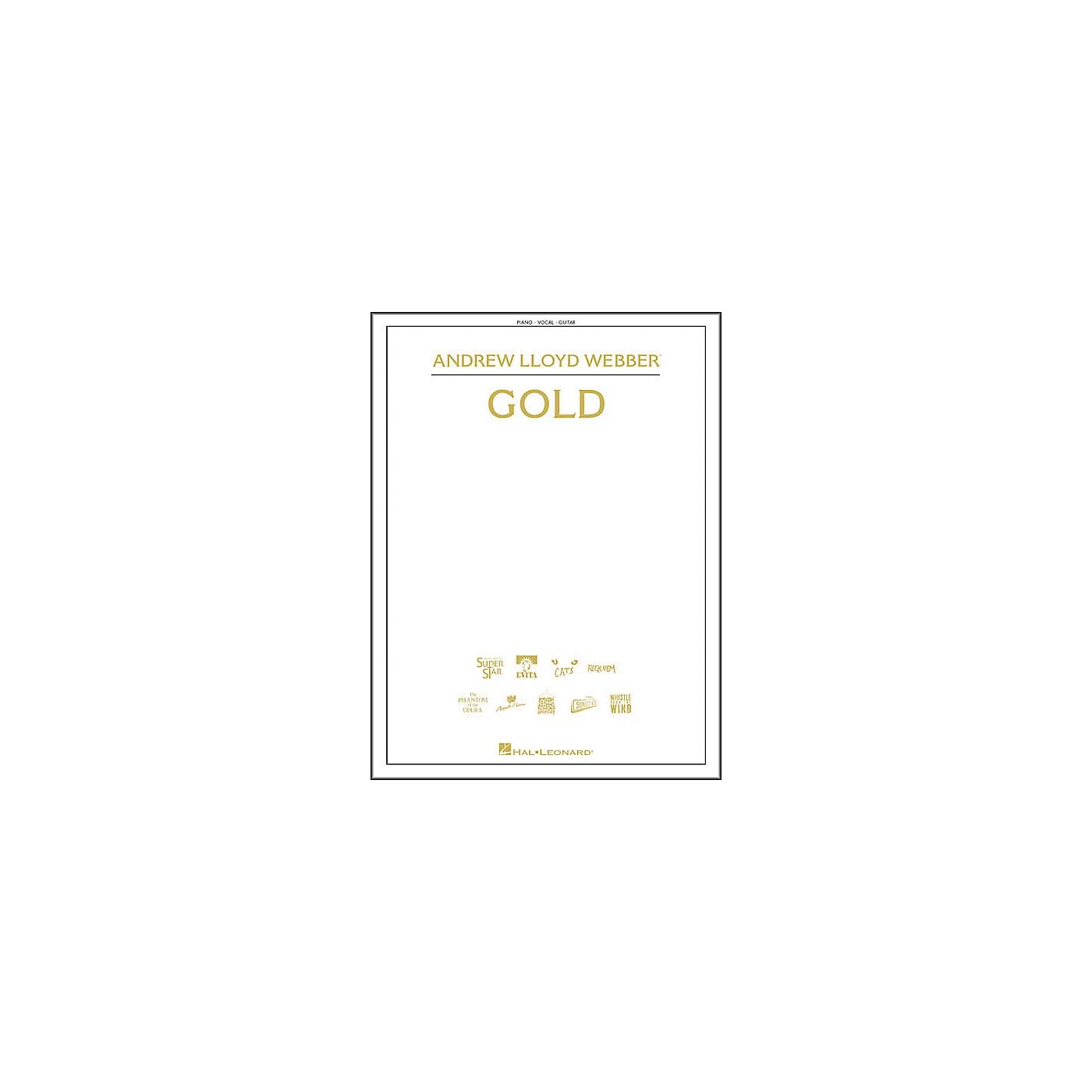 Hal Leonard Andrew Lloyd Webber - Gold Piano/Vocal/Guitar Songbook thumbnail