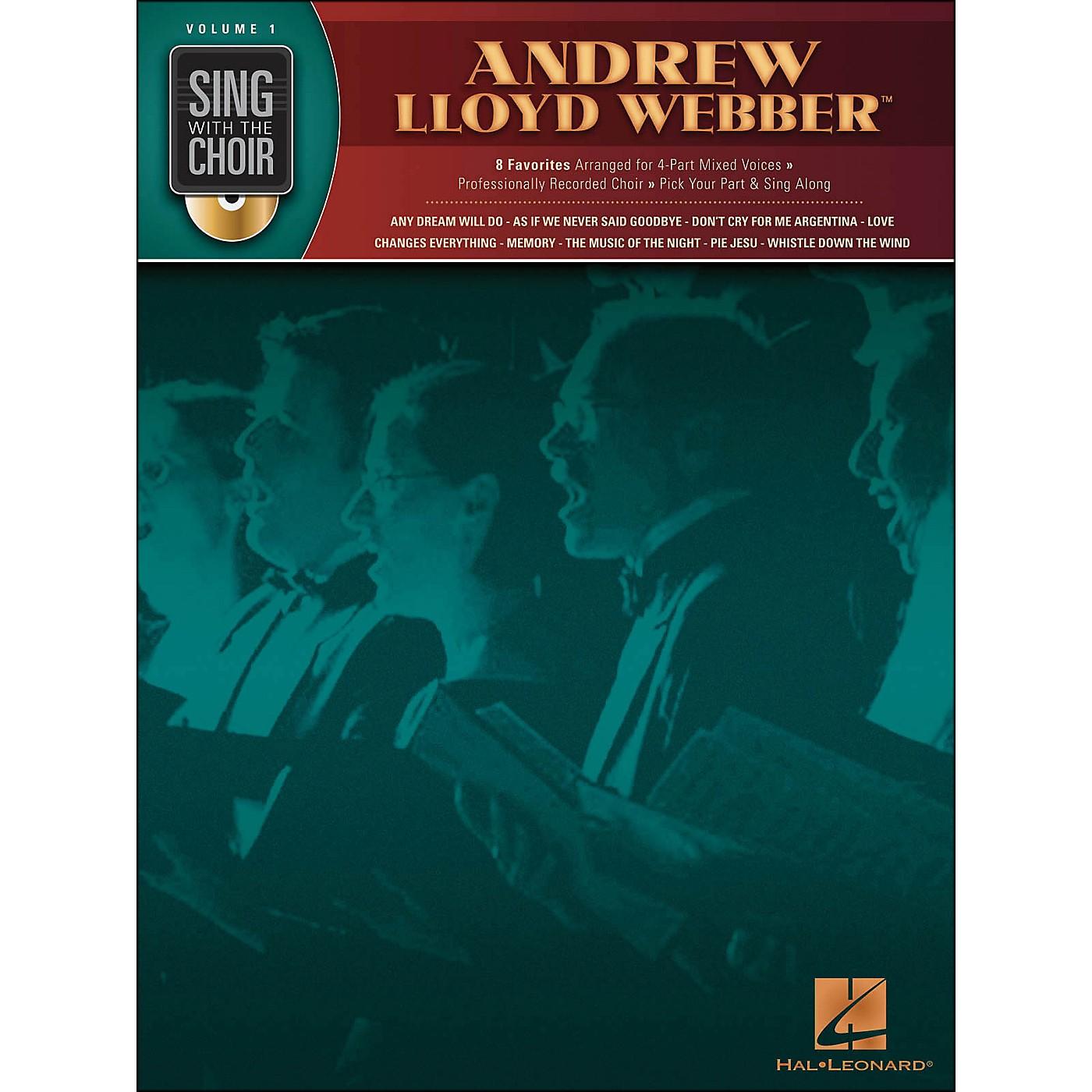 Hal Leonard Andrew Lloyd Webber - Sing with The Choir Series Vol. 1 Book/CD thumbnail