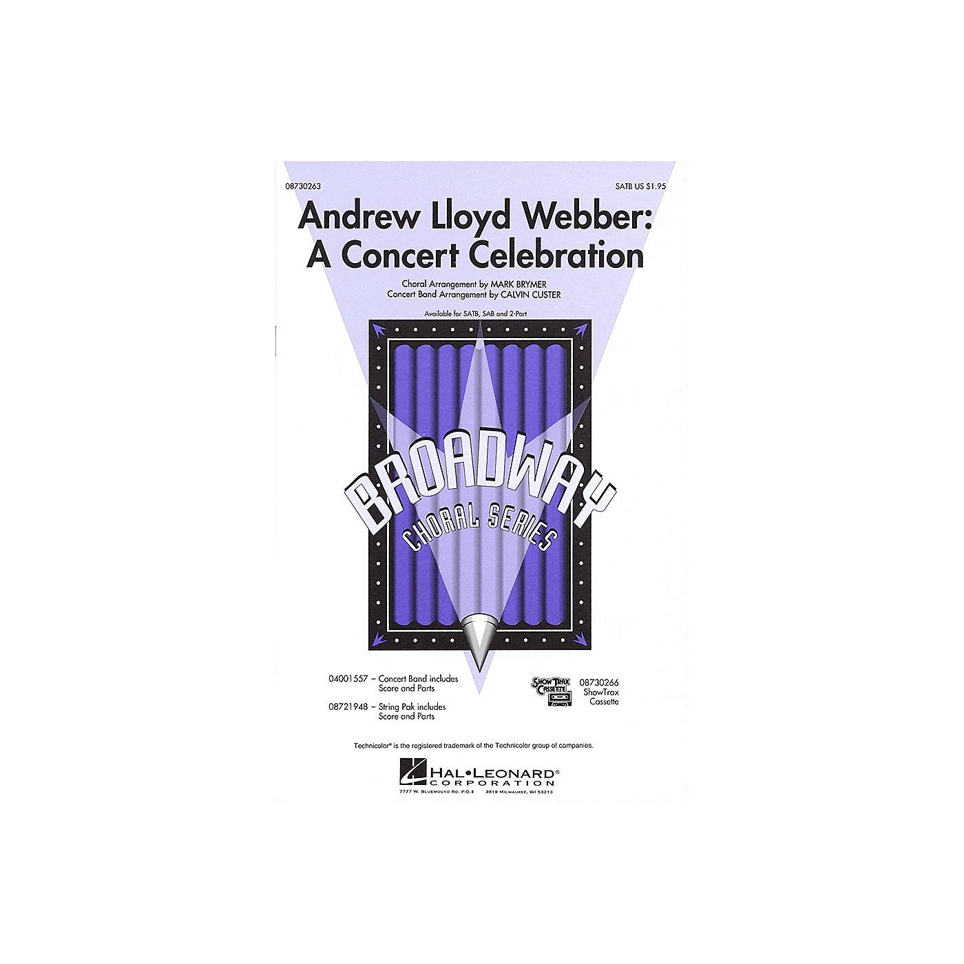 Hal Leonard Andrew Lloyd Webber: A Concert Celebration (Medley) ShowTrax CD Arranged by Mark Brymer thumbnail
