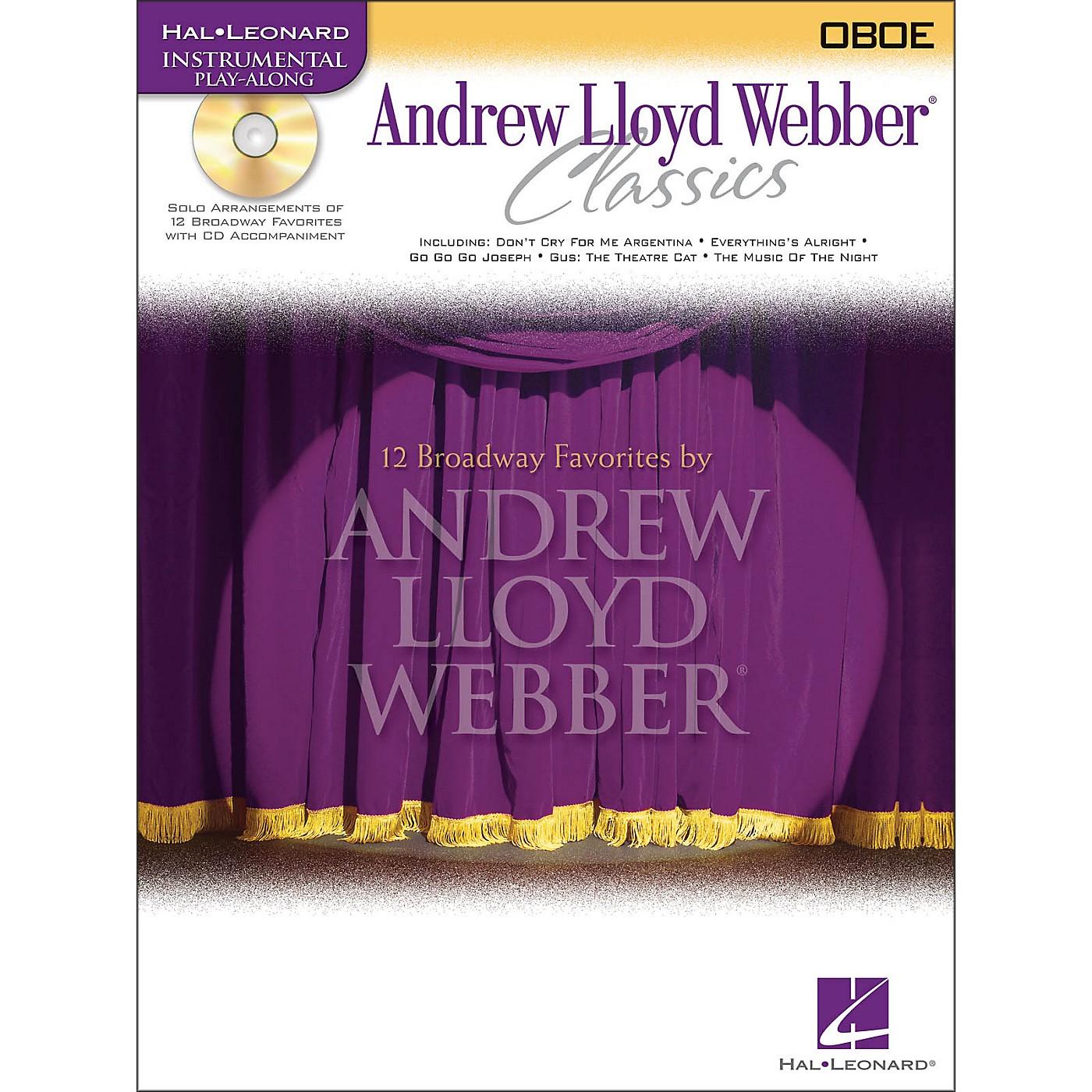 Hal Leonard Andrew Lloyd Webber Classics for Oboe Book/CD thumbnail