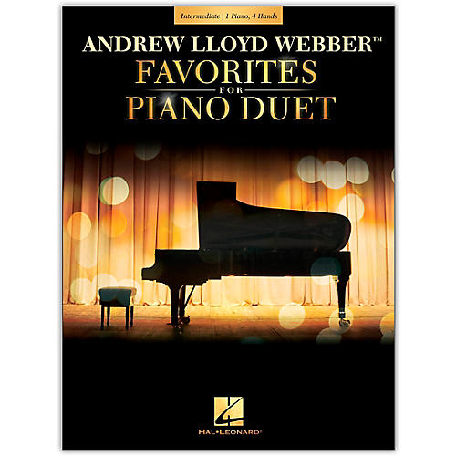 Hal Leonard Andrew Lloyd Webber Favorites for Piano Duet - Early Intermediate Level thumbnail