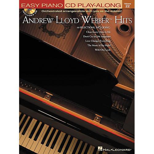 Hal Leonard Andrew Lloyd Webber Hits - Easy Piano CD Play-Along Volume 22 Book/CD thumbnail