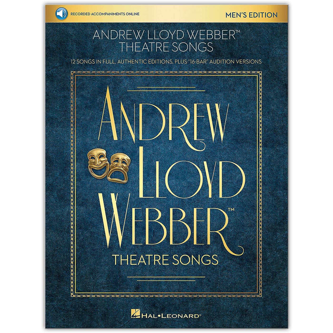 Hal Leonard Andrew Lloyd Webber Theatre Songs - Men's Edition Vocal Collection Book/Audio Online thumbnail