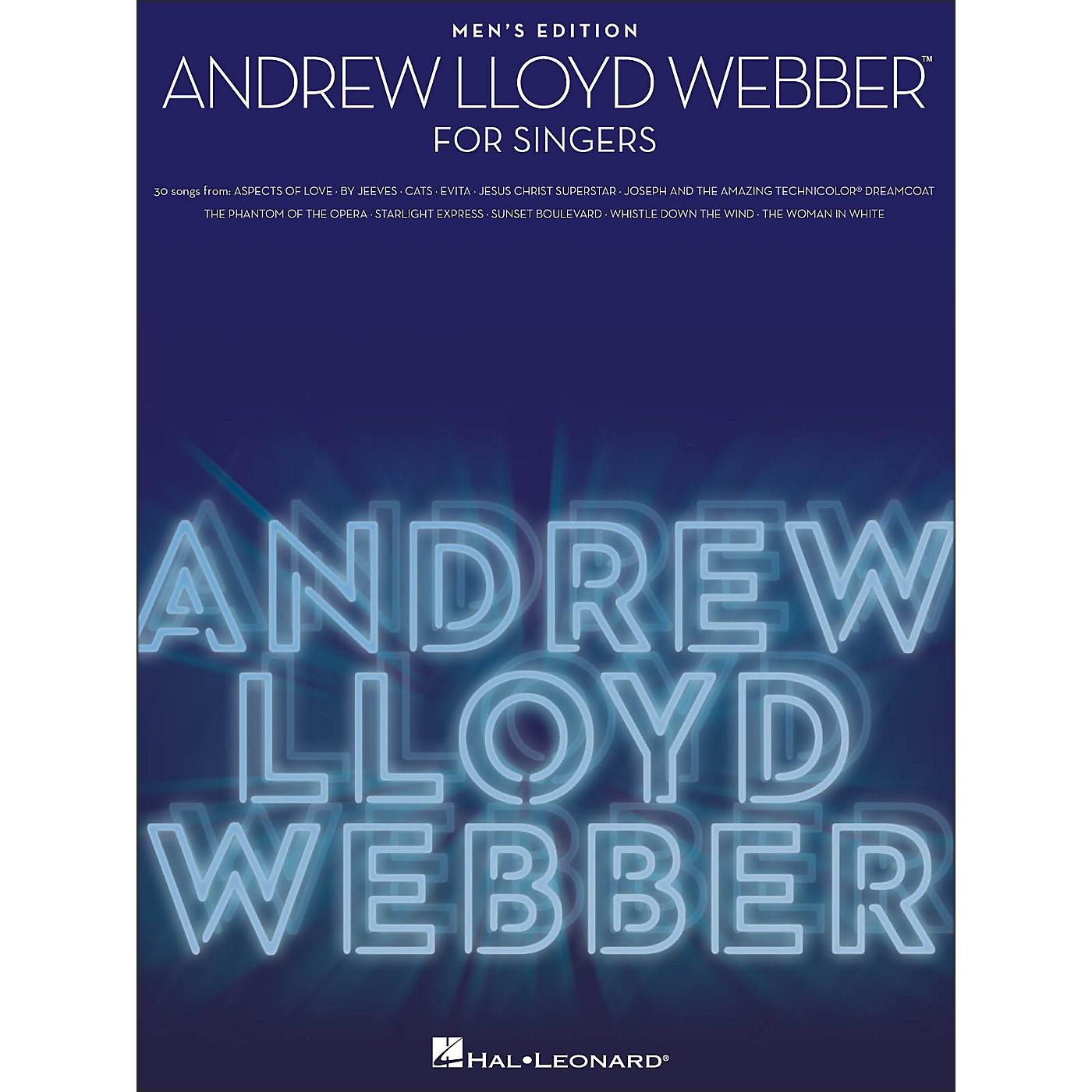Hal Leonard Andrew Lloyd Webber for Singers - Men's Edition thumbnail