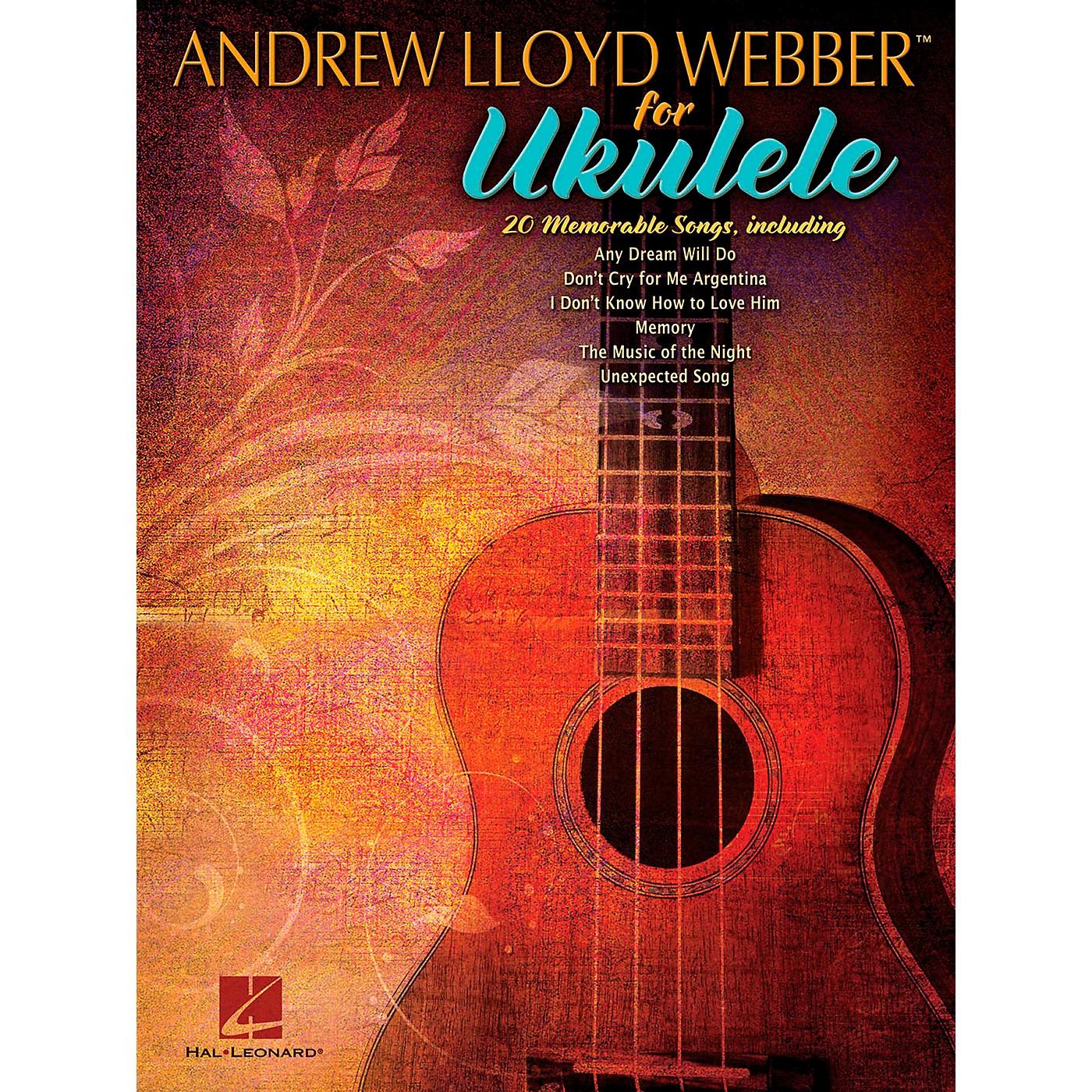 Hal Leonard Andrew Lloyd Webber for Ukulele thumbnail