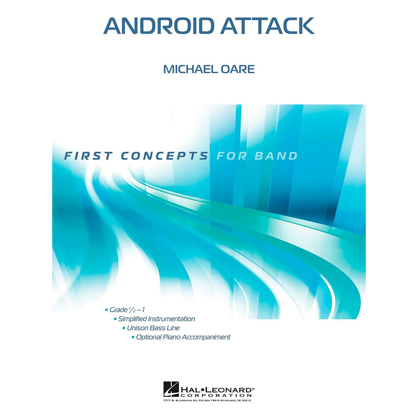 Hal Leonard Android Attack - First Concepts Concert Band Level 1 thumbnail