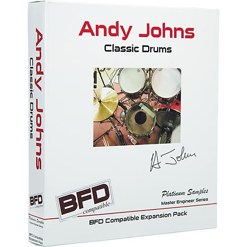 Platinum Samples Andy Johns Classic Drums for BFD thumbnail