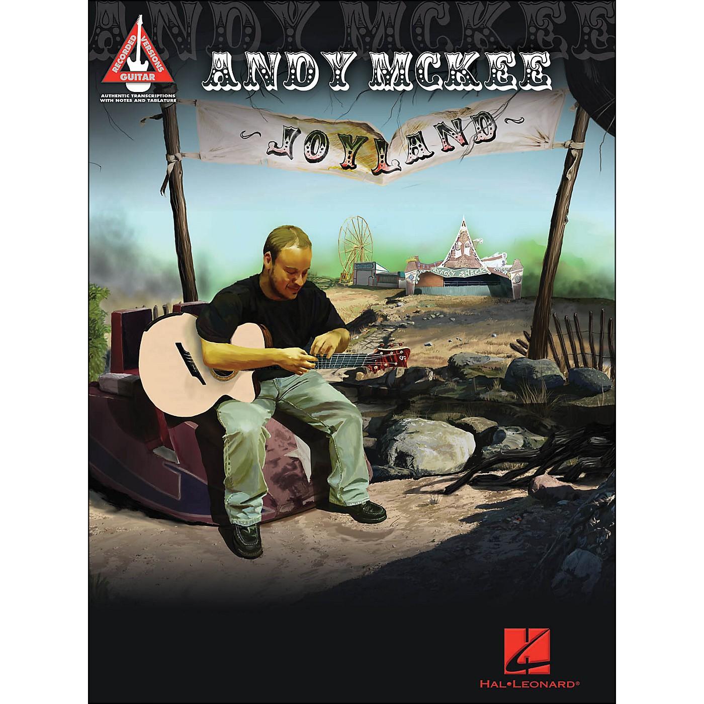 Hal Leonard Andy Mckee - Joyland Guitar Tab Songbook thumbnail