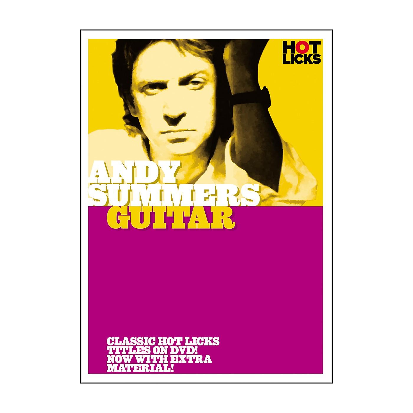 Hot Licks Andy Summers: Guitar DVD thumbnail