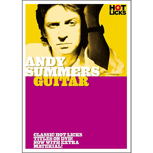 Hot Licks Andy Summers: Guitar DVD thumbnail