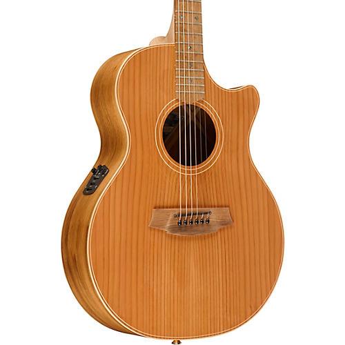 Cole Clark Angel 2 Series Australian Eco Redwood/Blackwood Grand Auditorium Acoustic-Electric Guitar thumbnail