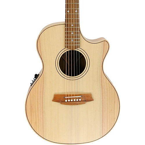 Cole Clark Angel 2 Series Bunya/Blackwood Cutaway Grand Auditorium Acoustic-Electric Guitar thumbnail