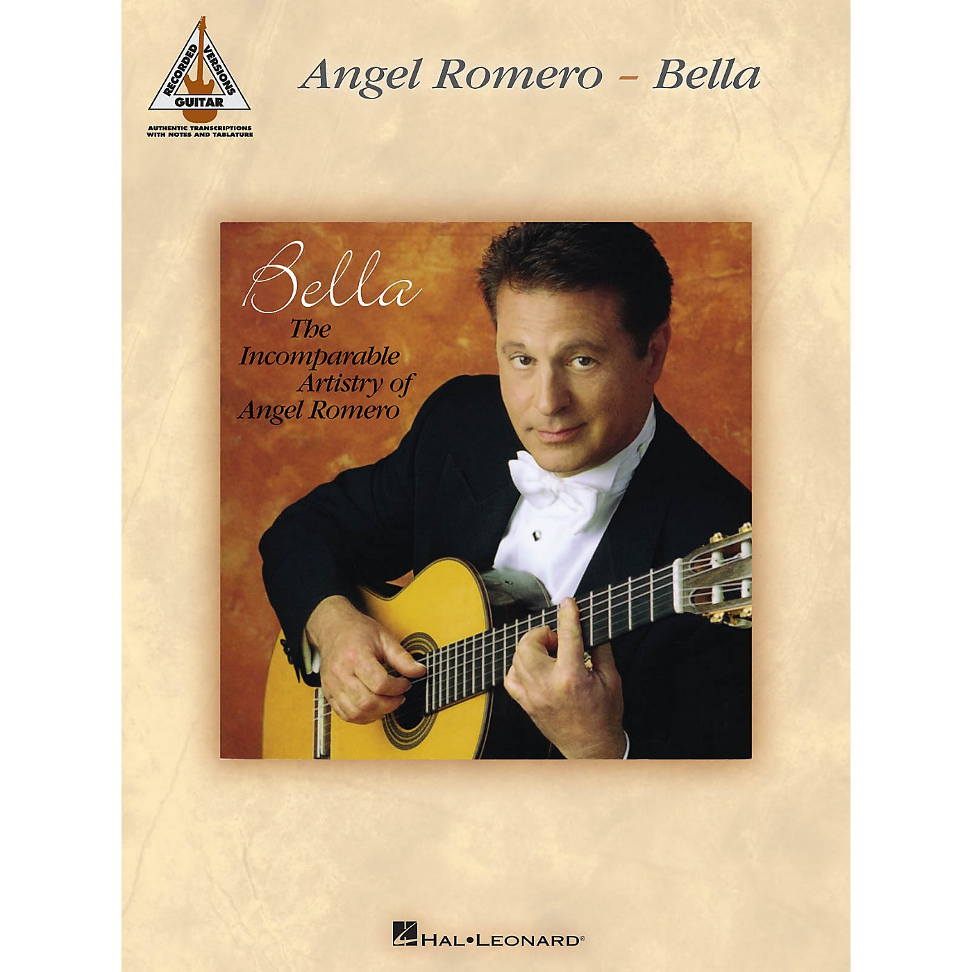 Hal Leonard Angel Romero - Bella Guitar Recorded Version Series Softcover Performed by Angel Romero thumbnail