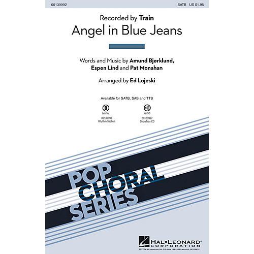 Hal Leonard Angel in Blue Jeans SAB by Train Arranged by Ed Lojeski thumbnail