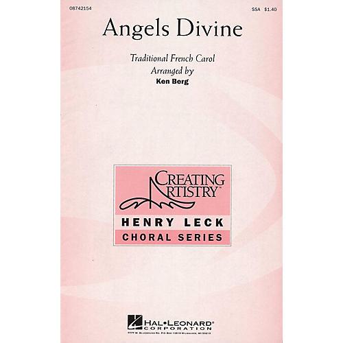 Hal Leonard Angels Divine SSA arranged by Ken Berg thumbnail