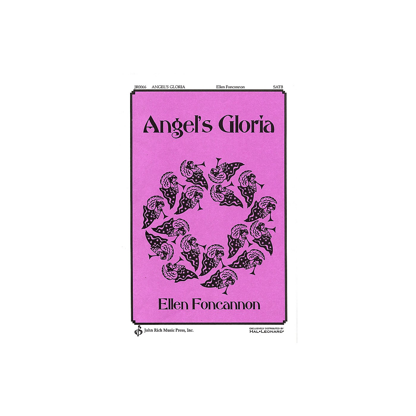 Pavane Angel's Gloria SATB composed by Ellen Foncannon thumbnail