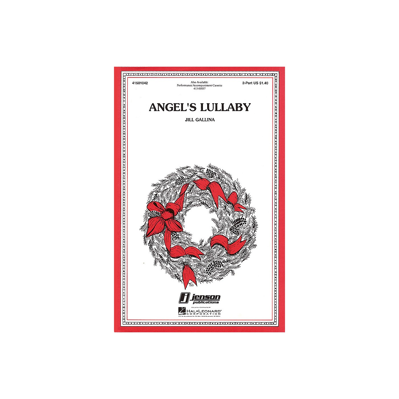 Hal Leonard Angel's Lullaby 2-Part composed by Jill Gallina thumbnail