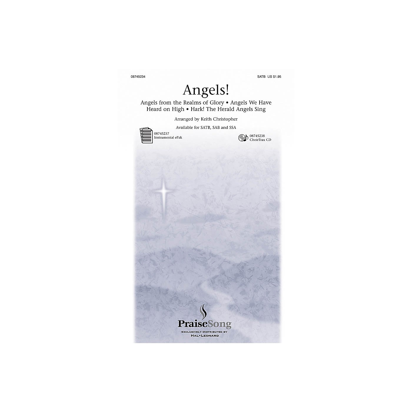 PraiseSong Angels! (Medley) SATB arranged by Keith Christopher thumbnail