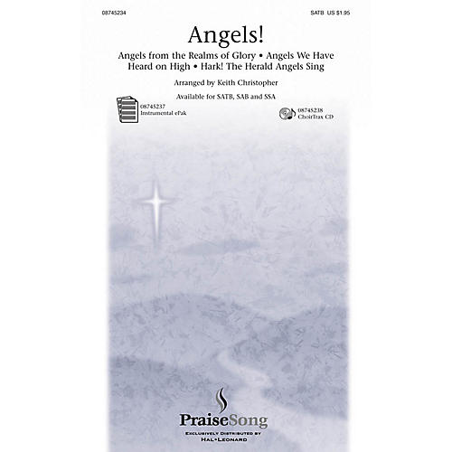 PraiseSong Angels! (Medley) SSA Arranged by Keith Christopher thumbnail