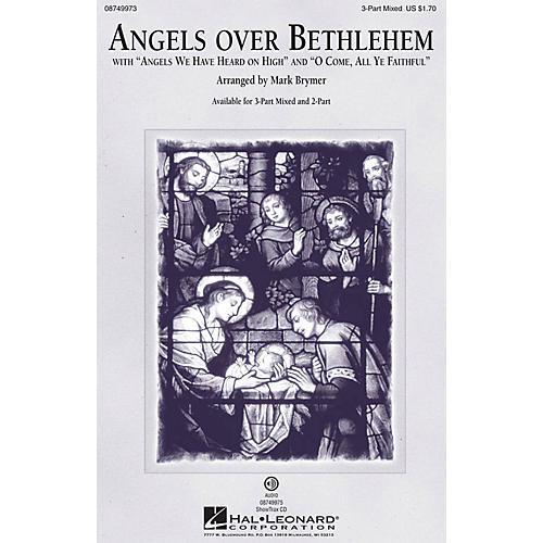 Hal Leonard Angels Over Bethlehem 2-Part Arranged by Mark Brymer thumbnail