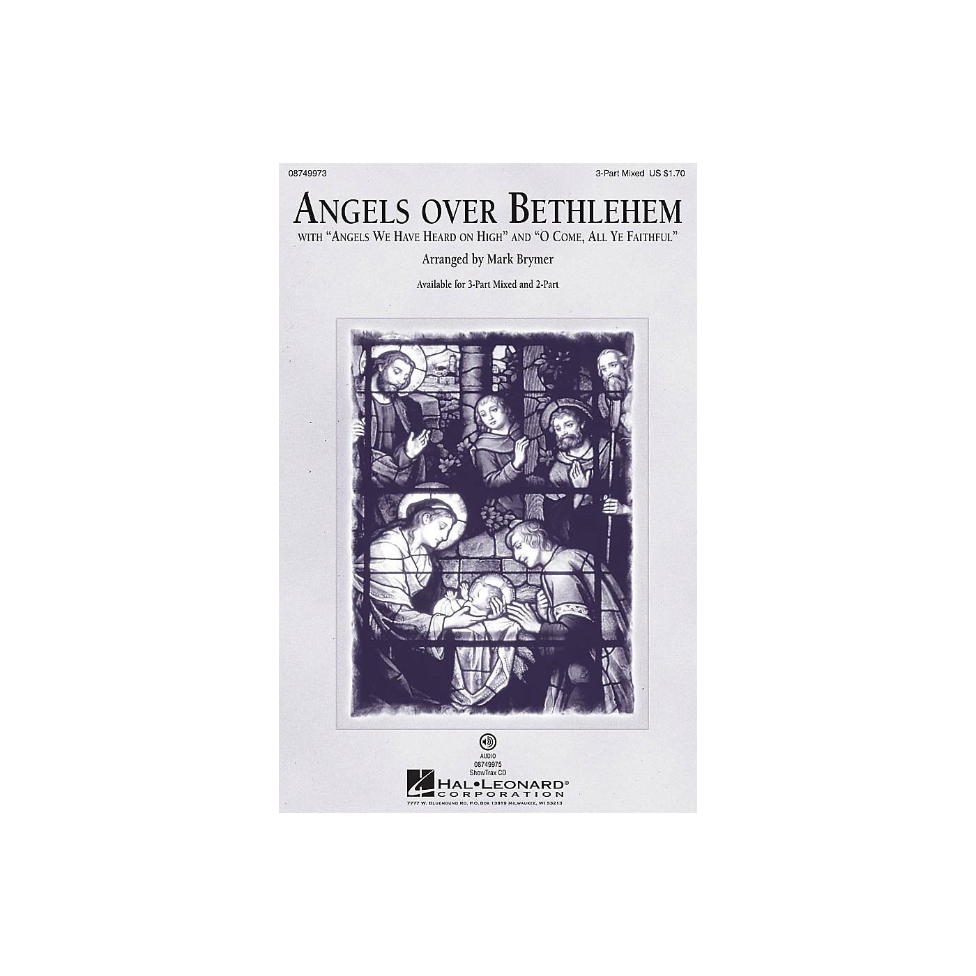 Hal Leonard Angels Over Bethlehem 3-Part Mixed arranged by Mark Brymer thumbnail