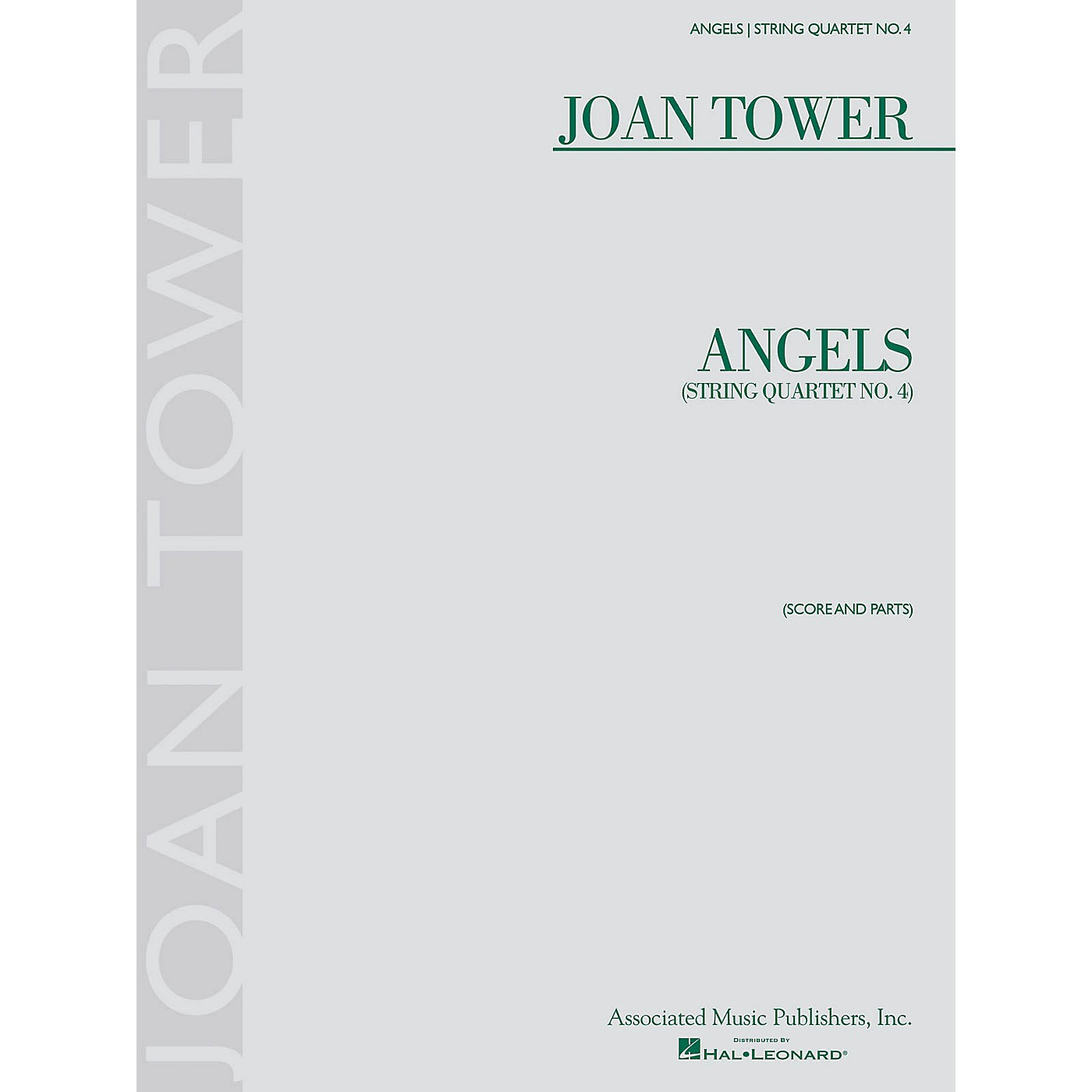 G. Schirmer Angels: String Quartet No. 4 String Ensemble Series Softcover Composed by Joan Tower thumbnail