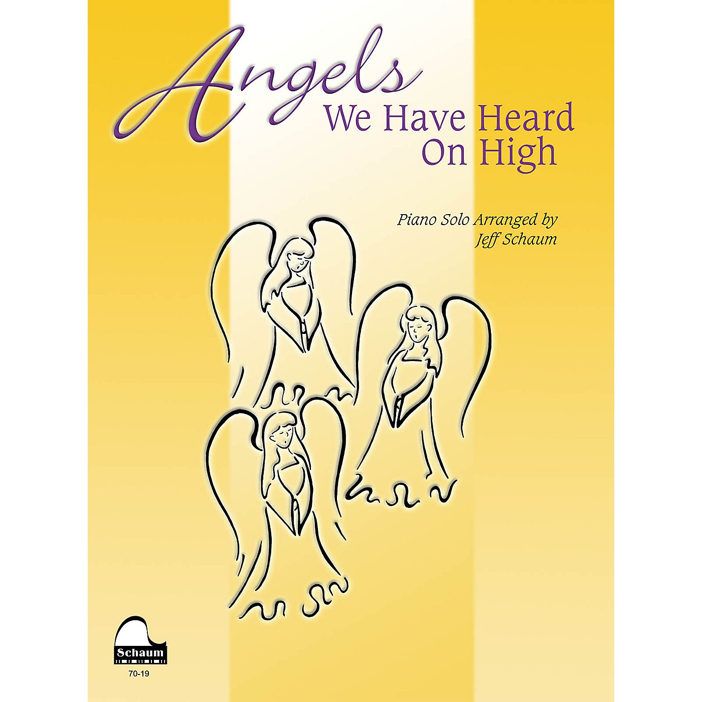 SCHAUM Angels We Have Heard on High Educational Piano Series Softcover thumbnail