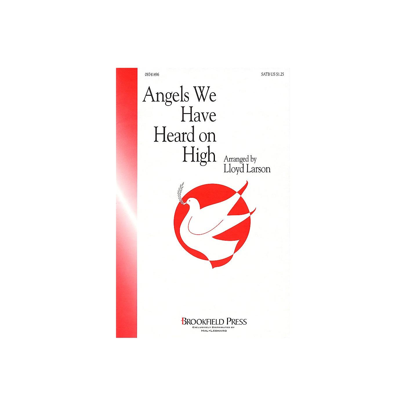 Brookfield Angels We Have Heard on High (SATB) SATB arranged by Lloyd Larson thumbnail