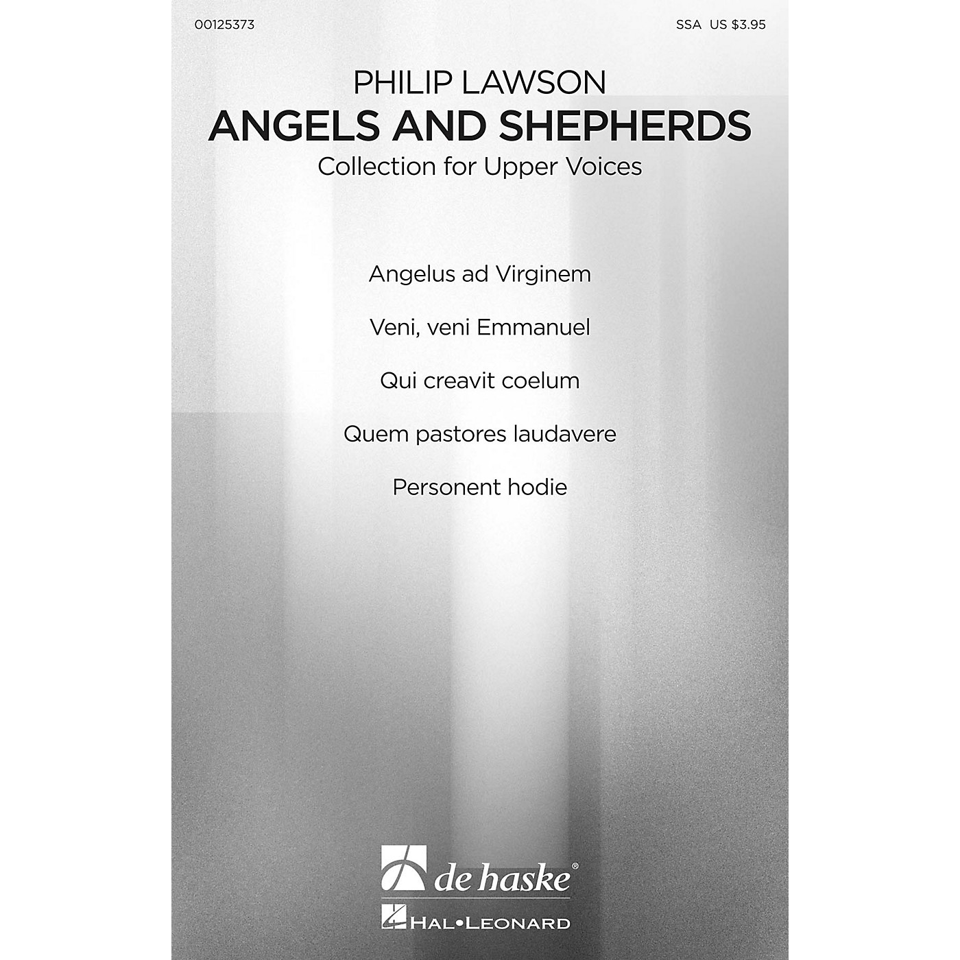 De Haske Music Angels and Shepherds (Christmas Choral Collection for Upper Voices) SSA COLLECTION by Philip Lawson thumbnail