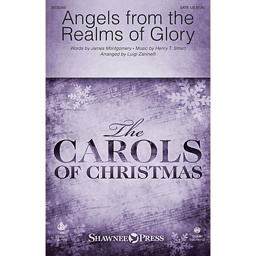 Shawnee Press Angels from the Realms of Glory Studiotrax CD Arranged by Luigi Zaninelli thumbnail