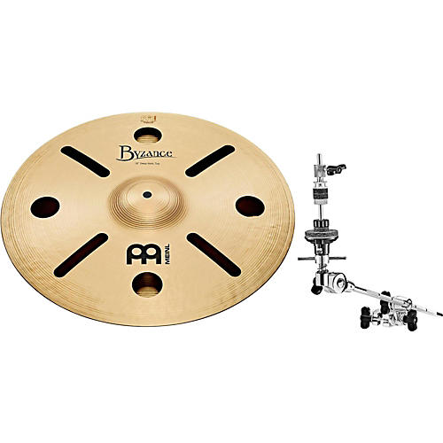 Meinl Anika Nilles Artist Concept Model Byzance Deep Hats with X-Hat Auxiliary Hi-Hat Arm thumbnail