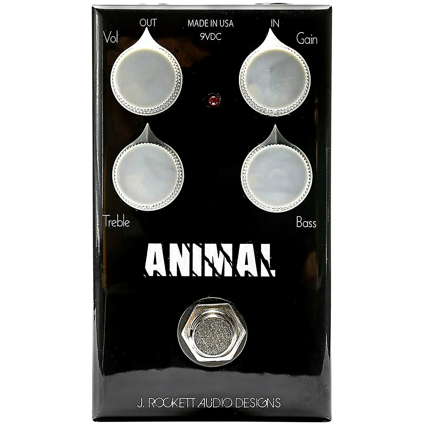 Rockett Pedals Animal OD Overdrive Effects Pedal thumbnail