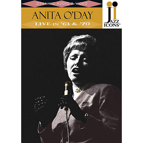 Jazz Icons Anita O'Day - Live in '63 & '70 (Jazz Icons DVD) DVD Series DVD Performed by Anita O'Day thumbnail