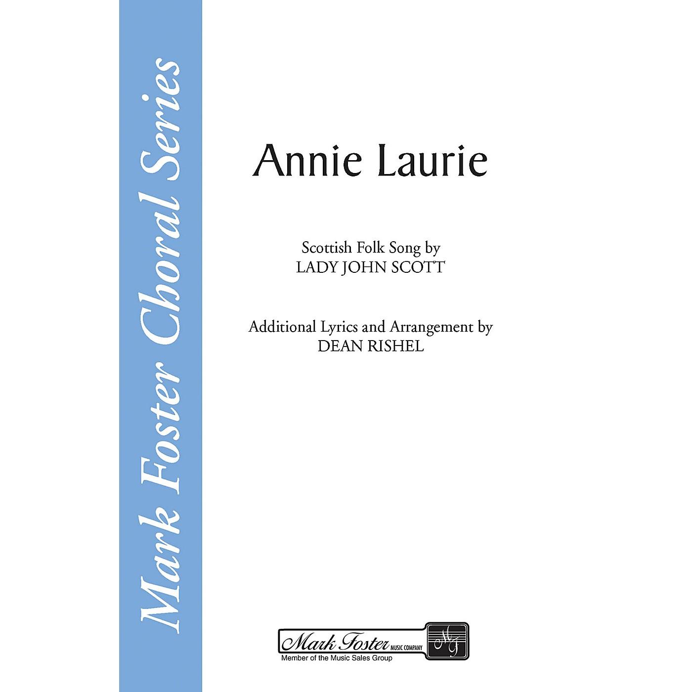 Shawnee Press Annie Laurie SATB a cappella arranged by Dean Rishel thumbnail