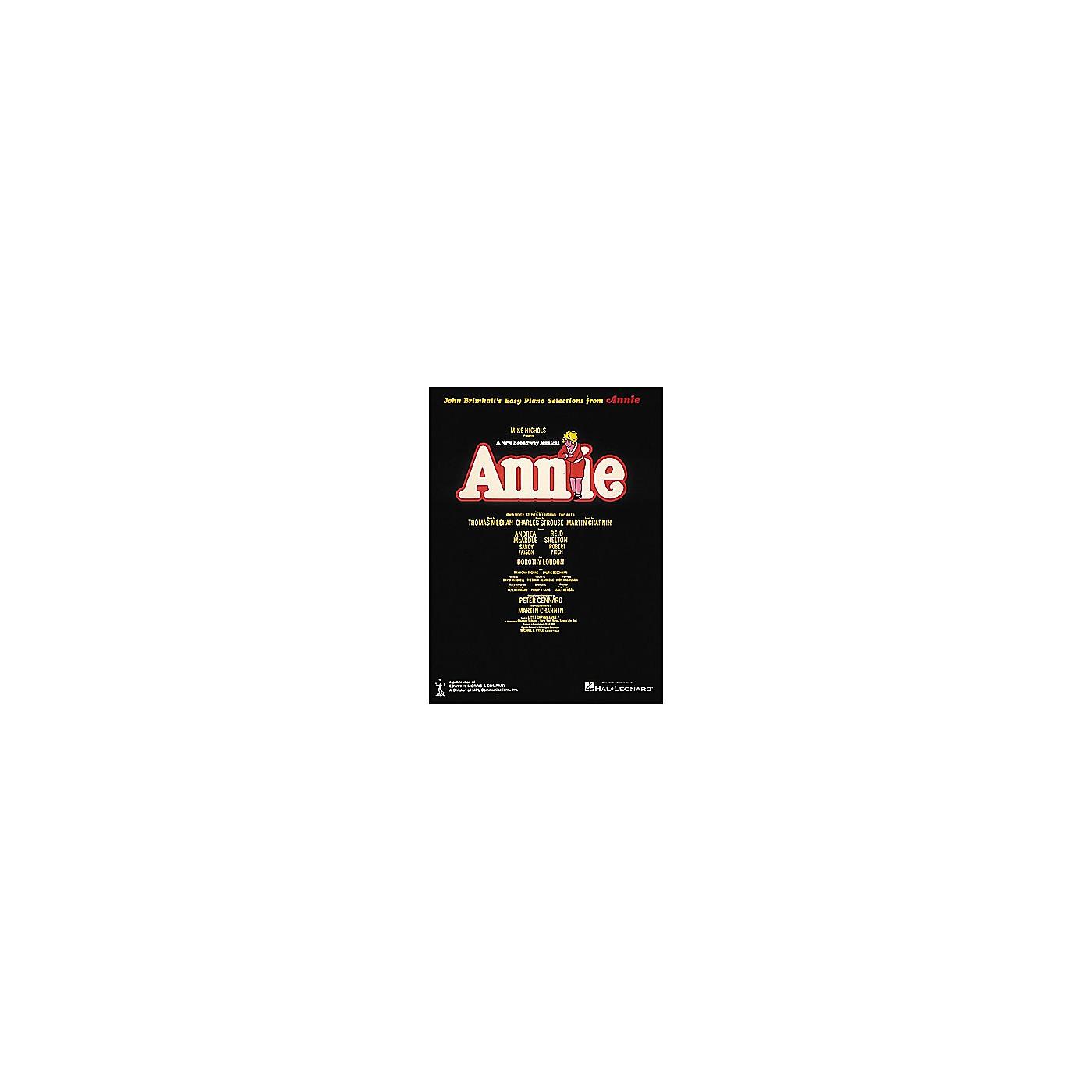 Hal Leonard Annie for Easy Piano thumbnail