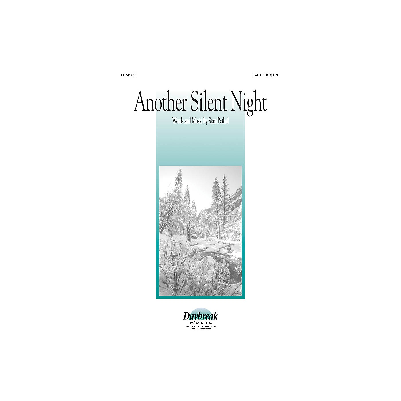 Daybreak Music Another Silent Night SATB composed by Stan Pethel thumbnail