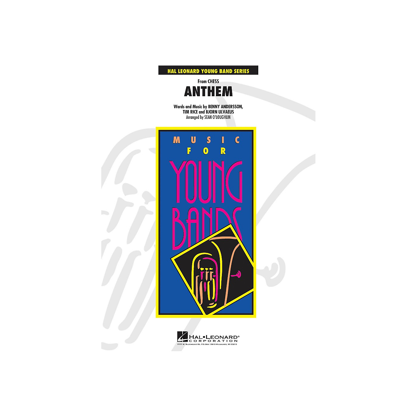 Hal Leonard Anthem (From Chess) - Young Concert Band Series Level 3 thumbnail