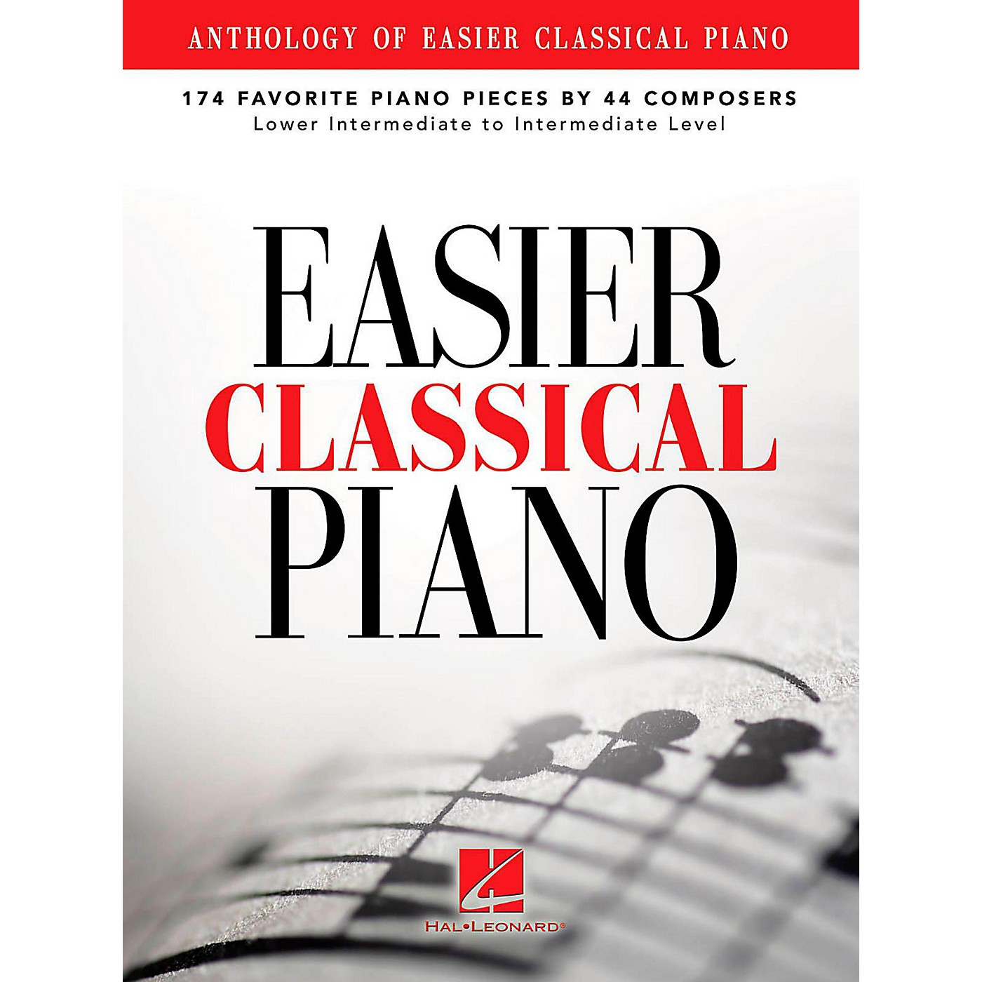 Hal Leonard Anthology Of Easier Classical Piano - 174 Favorite Pieces By 44 Composers thumbnail
