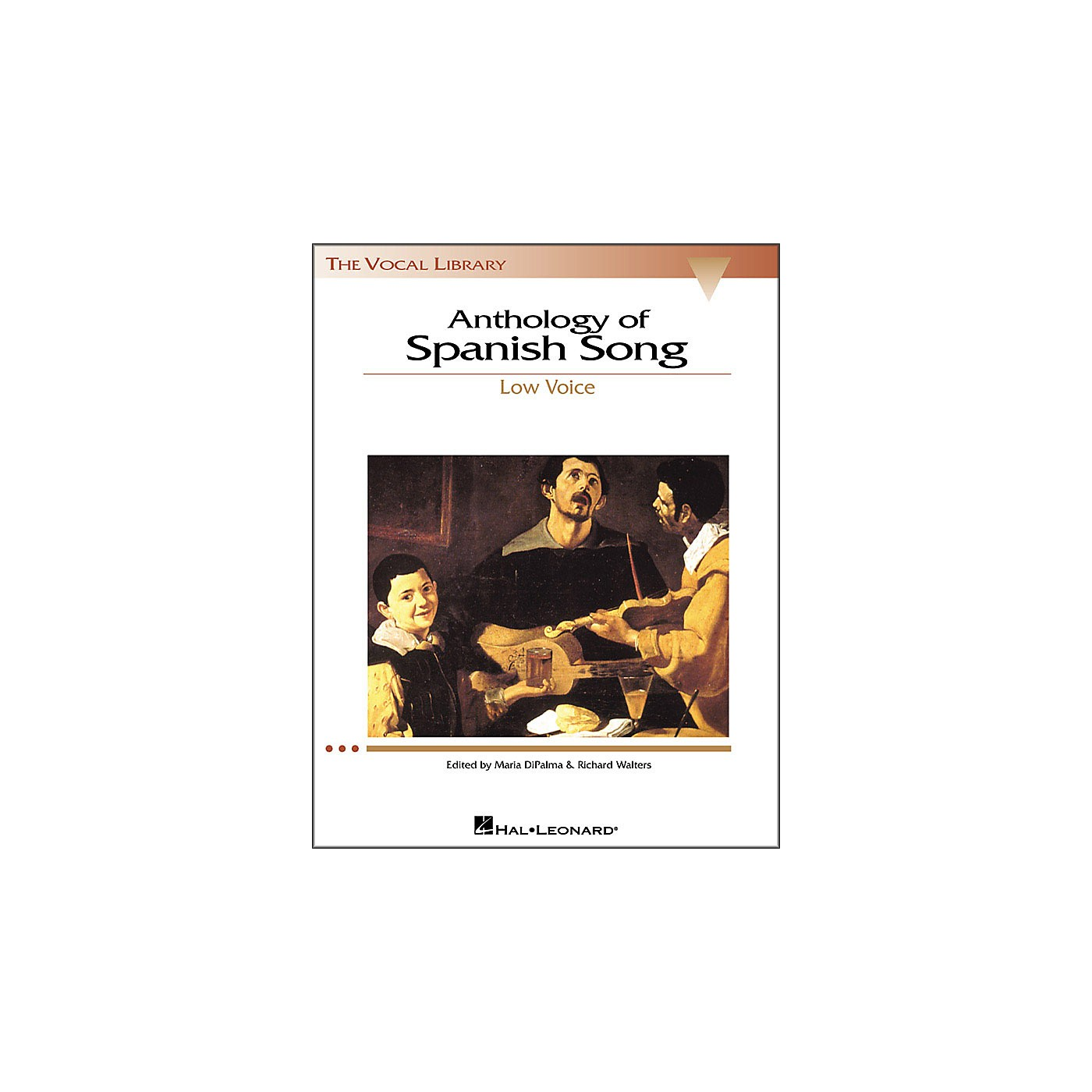 Hal Leonard Anthology Of Spanish Songs for Low Voice (The Vocal Library Series) thumbnail
