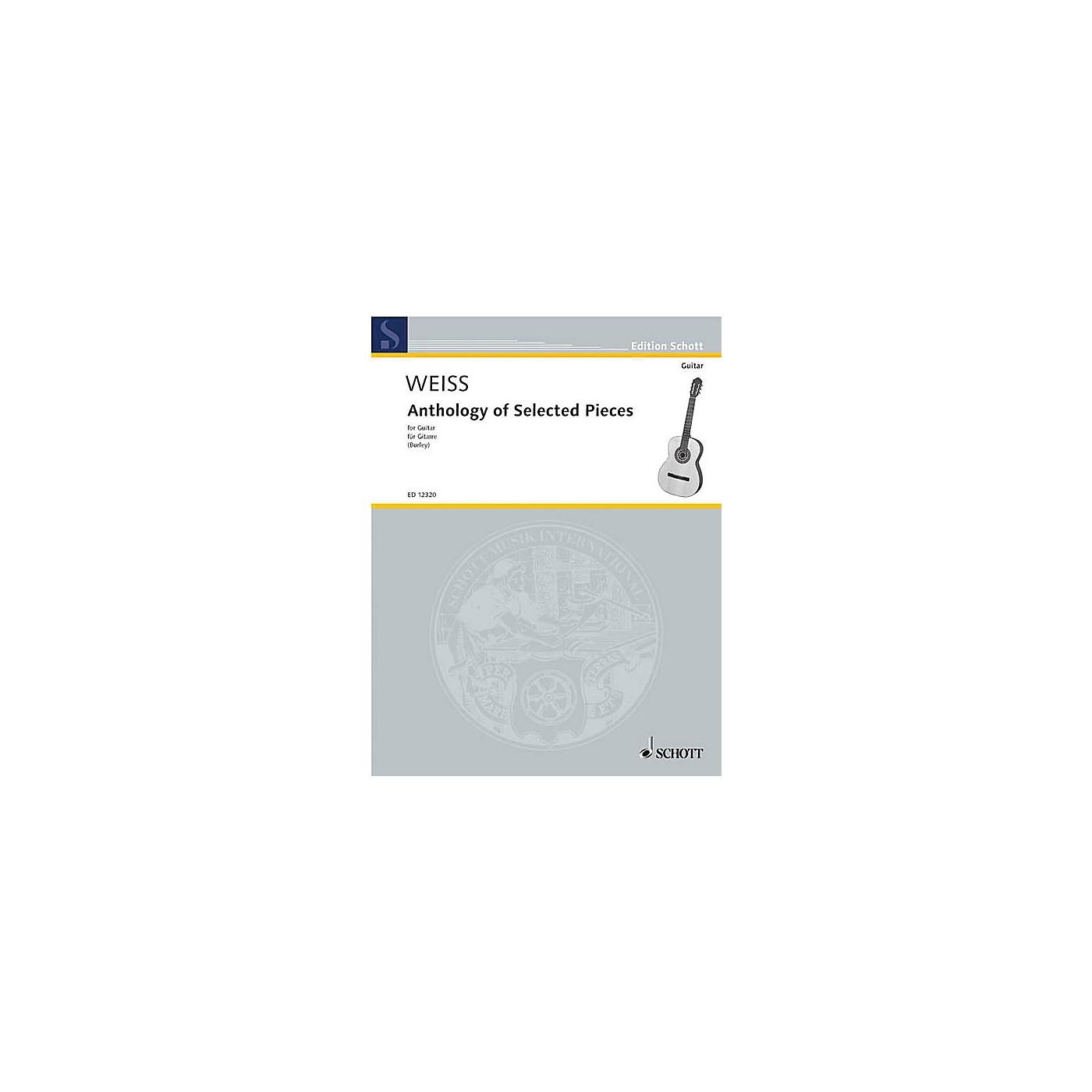 Schott Anthology of Selected Pieces (Guitar Solo) Schott Series thumbnail