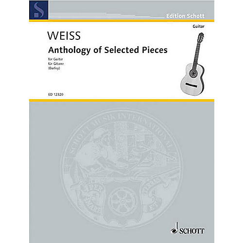 Schott Anthology of Selected Pieces (Guitar Solo) Schott Series thumbnail