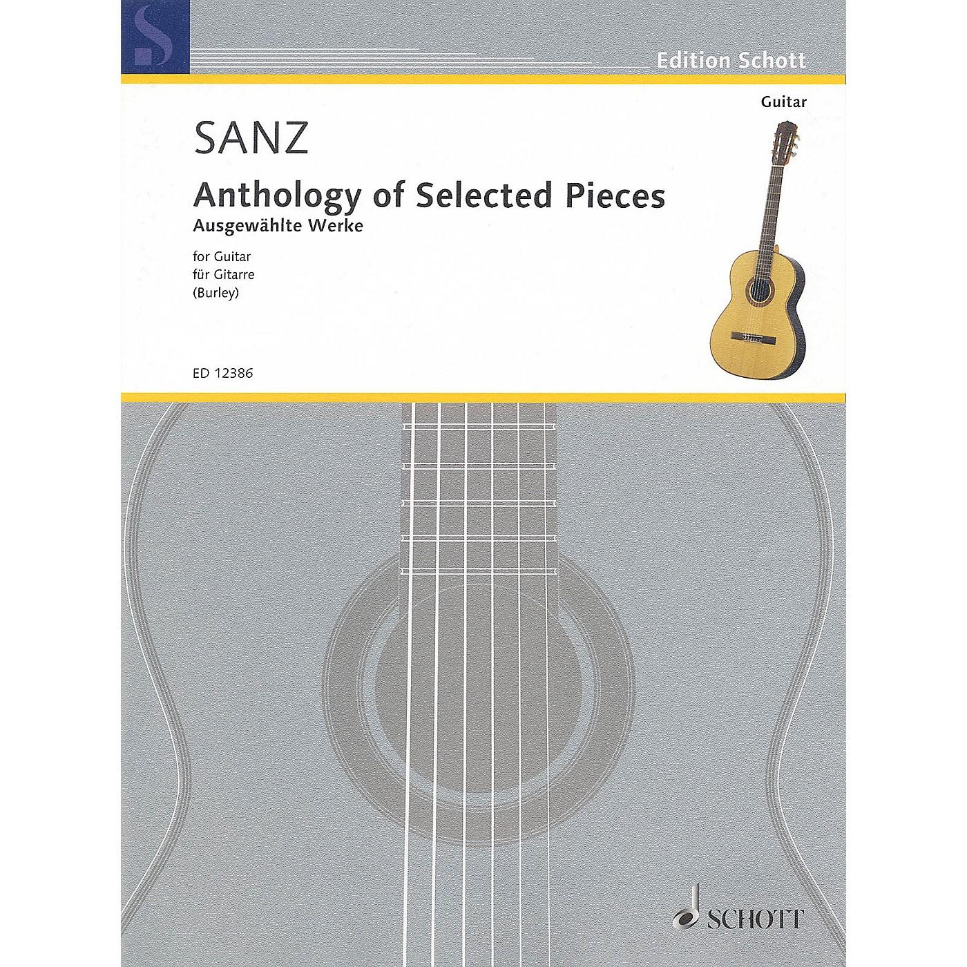 Schott Anthology of Selected Pieces for Guitar Schott Series thumbnail