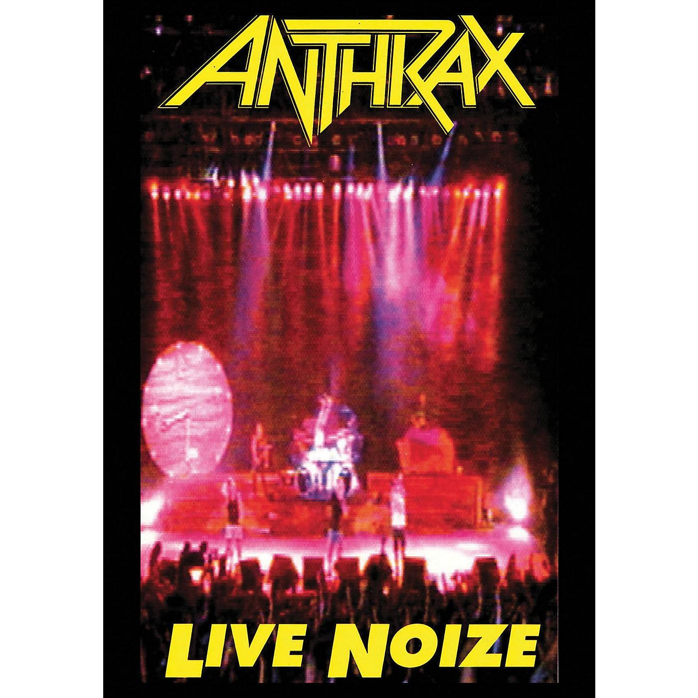 Hal Leonard Anthrax Live Noize DVD 1991 Concert with Public Enemy DVD thumbnail