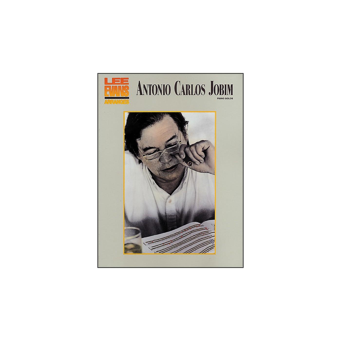 Hal Leonard Antonio Carlos Jobim - Piano Solos Lee Evans Piano thumbnail