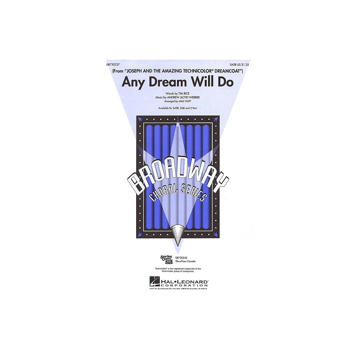 Hal Leonard Any Dream Will Do SATB arranged by Mac Huff thumbnail