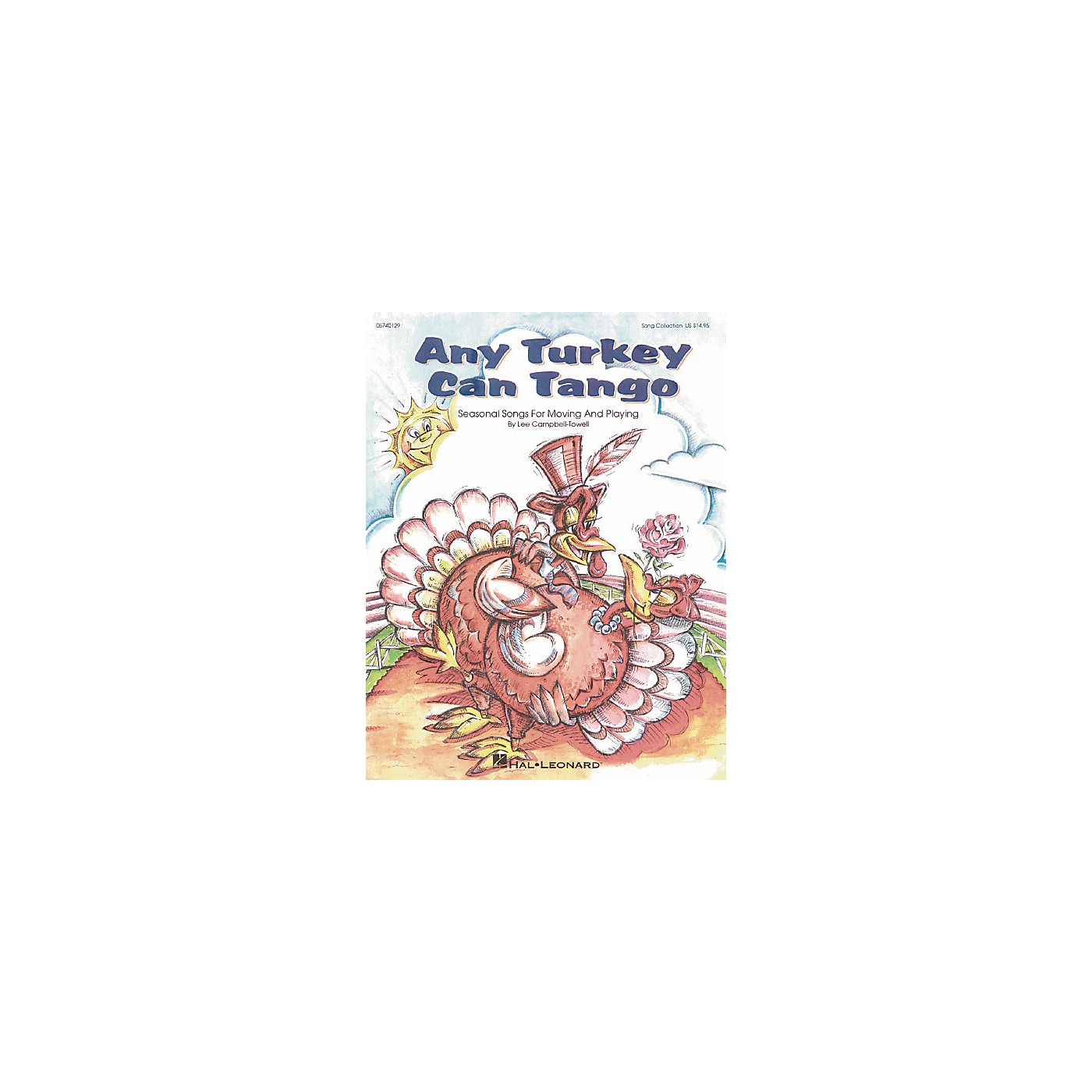 Hal Leonard Any Turkey Can Tango Song Collection Book thumbnail